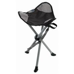 Backless On-Site Therapist Stool Black