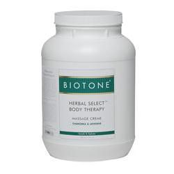 BIOTONE® Herbal Select® Body Massage Creme, 1 Gallon