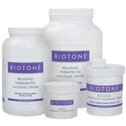 BIOTONE® Relaxing Therapeutic Massage Crème - Massage Cream
