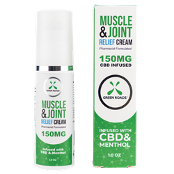 Green Roads Wellness CBD Muscle and Joint Pain Relief Cream