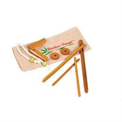 Facial Bamboo Stick Set W/ Face Version Dvd