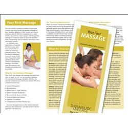 Your First Massage Brochure 50 Pack