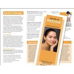 Benefits Of Massage Brochure 50 Pack