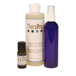 TheraPro Stress Relief Aromatherapy Massage Oil Package