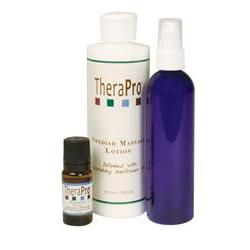 TheraPro Calming Aromatherapy Lotion Massage Pkg