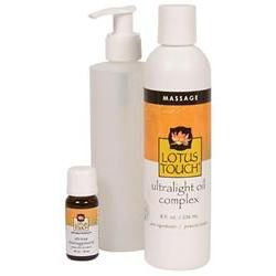 Lotus Touch Stress Management Massage Oil Package
