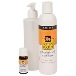 Lotus Touch Relaxation Massage Oil Package