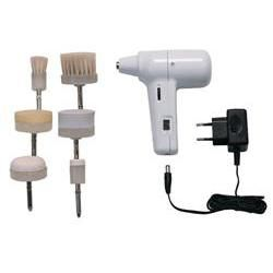 Portable Sonic Facial & Body Brush 6Pc Set