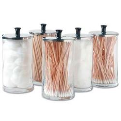 Glass Dispenser Jars Set Of 6 25Oz Each
