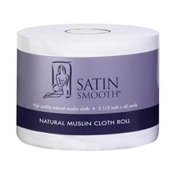 Satin Smooth Natural Muslin Roll