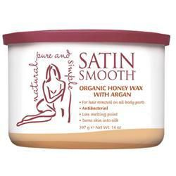 Satin Smooth Honey Wax with Argan Oil