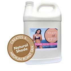 Touch Of Tahiti Sunless Spray Solution 1 Gallon