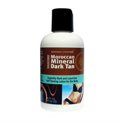 Moroccan Mineral Dark Self Tanning Lotion 6 Oz