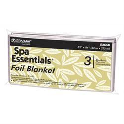 Spa Essentials Thermal Mylar Foil Single Sheet 52' x 84', 3 Count
