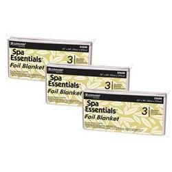 Spa Essentials Thermal Mylar Foil Sheet, 9 Sheets