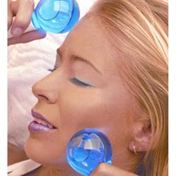 Magic Globes Cooling Globes for the Face & Eyes - 1 Pair - Blue