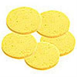 "Round Facial Sponges 2.75"" 10-Pack"