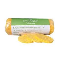 Intrinsics Non-Compressed Sponges 2.5' - 25 Count