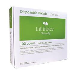Intrinsics Disposable Bikinis - Breathable, Extra-Wide Waistband - 100/pack