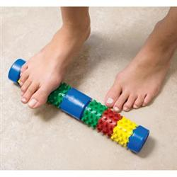 Foot Log Roller With Card And Booklet