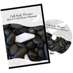 Hot And Cold Full Body Stone Massage DVD