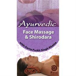 Ayurvedic Face Massage And Shirodara Dvd