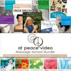 At Peace Media Massage DVD/CD Bundle
