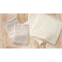 Muslin Cloth Plain Drawstring Bag 3X5""