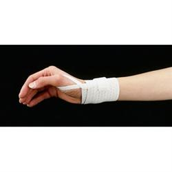 Universal Elastic Wrist Band W/ Thumb Loop White