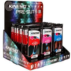 Kinesio® Pre-Cuts Kinesiology Tape Sets with Display