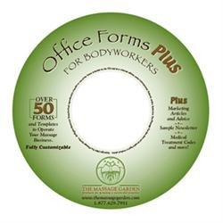 Office Forms Plus For Bodyworkers