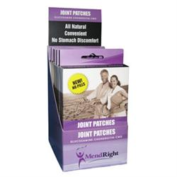 MendRight Glucosamine-Chondroitin-CMO Joint Patch Retail Display Package