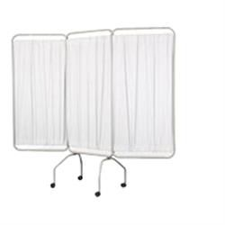 3 Panel Privacy Screen With Casters & Sure-Chek
