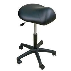 "Oakworks Premium Saddle Stool 22-29""H"