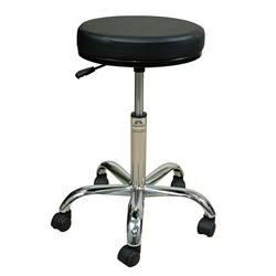 "Oakworks Professional Swivel Stool 21-28""H"