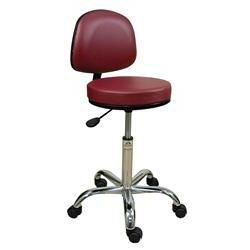Oakworks® Professional Backrest Stool