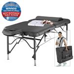 Master Massage Athletico Air Ultralight Portable Table, Black