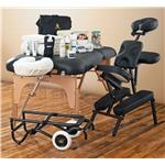Ultimate Massage Business Starter Package - NRG Karma Massage Table, Chair, Cart & Massage Supplies Kit