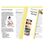 Your First Massage Brochures