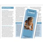 Massage For Sports & Fitness Brochure 50 Pack