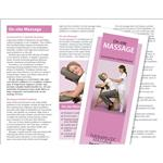 On-Site Chair Massage Client Education Brochures - 50 Pack