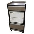 Custom Craftworks™ Signature Spa Series Trolley Cart - Wood Stain Upgrade
