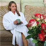 Dual Layer Microfiber Terry Lined Robe