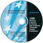 Massage Review 1200 Q&A Testing Software Cd