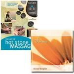 "Art Of Hot Stone Massage Dvd With ""Serena"" Cd"