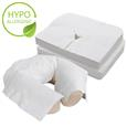 EarthLite® Flat Disposable Face Pillow Covers for Massage Tables & Chairs, 100 ct.