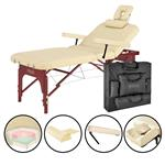 "Master® Massage Equipment 31"" Spamaster™ Salon Portable Massage Table Package"