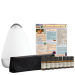 Deluxe Aromatherapy Kit with TheraPro Essential Oils