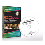 Thai For The Table Prone & Side-Lying Dvd