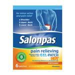 Salonpas® Pain Relieving Gel-Patch Hot, 6/Box